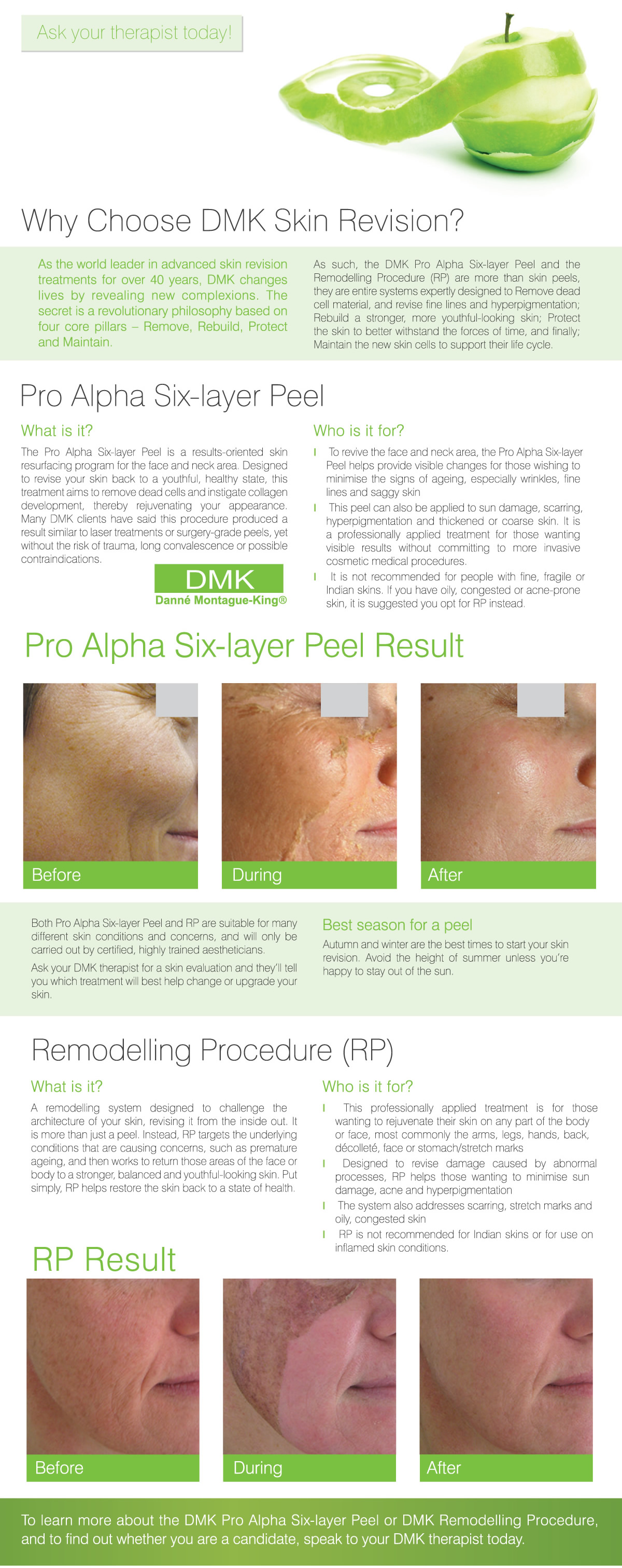 DMK Pro Alpha Six Layer Peel